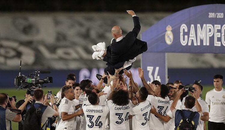 Real Madrid a castigat al 34-lea titlu din Liga cu victoria asupra Villareal