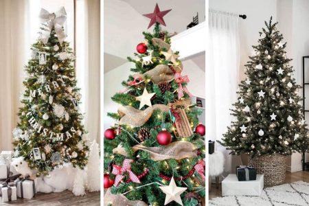 Top 5 idei excelente de decorare a unui brad artificial